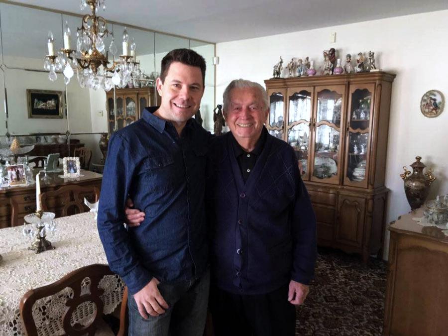 Najstariji Rakljan u Americi, 96-godišnji Miloš Percan